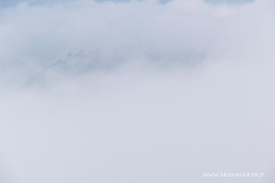 雲海と竹田城跡