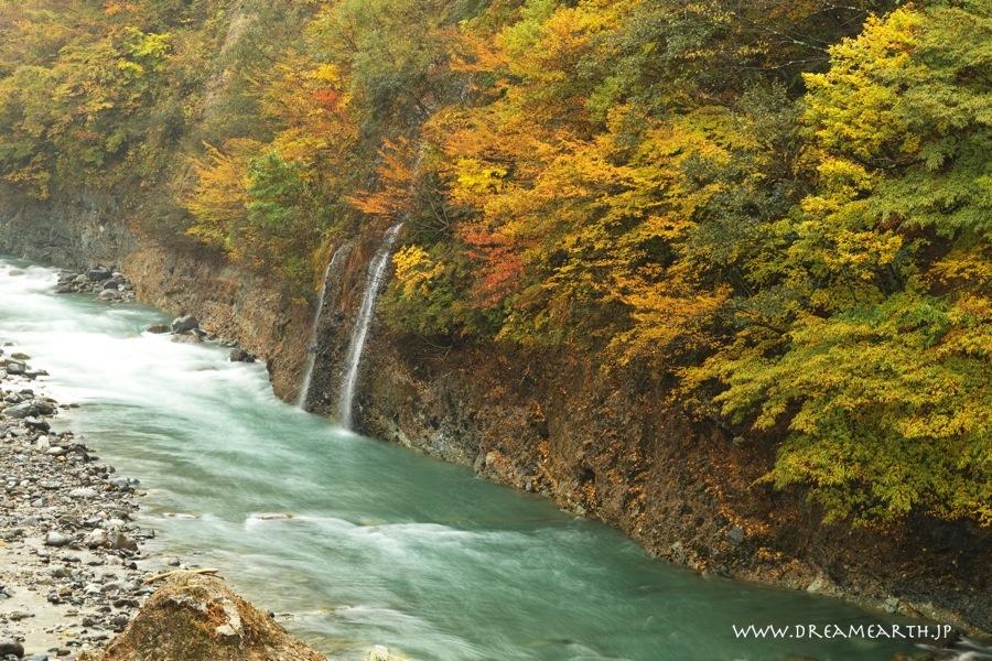 秋山郷の紅葉