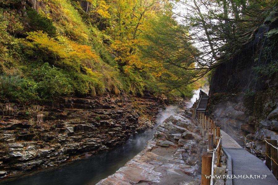 小安峡の紅葉