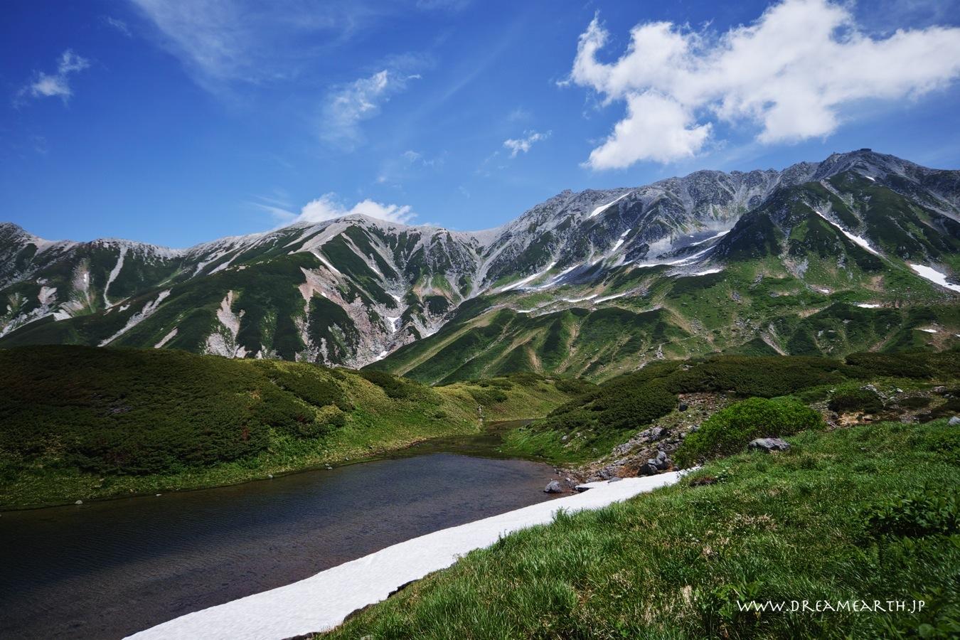 立山黒部アルペンルート ミドリガ池