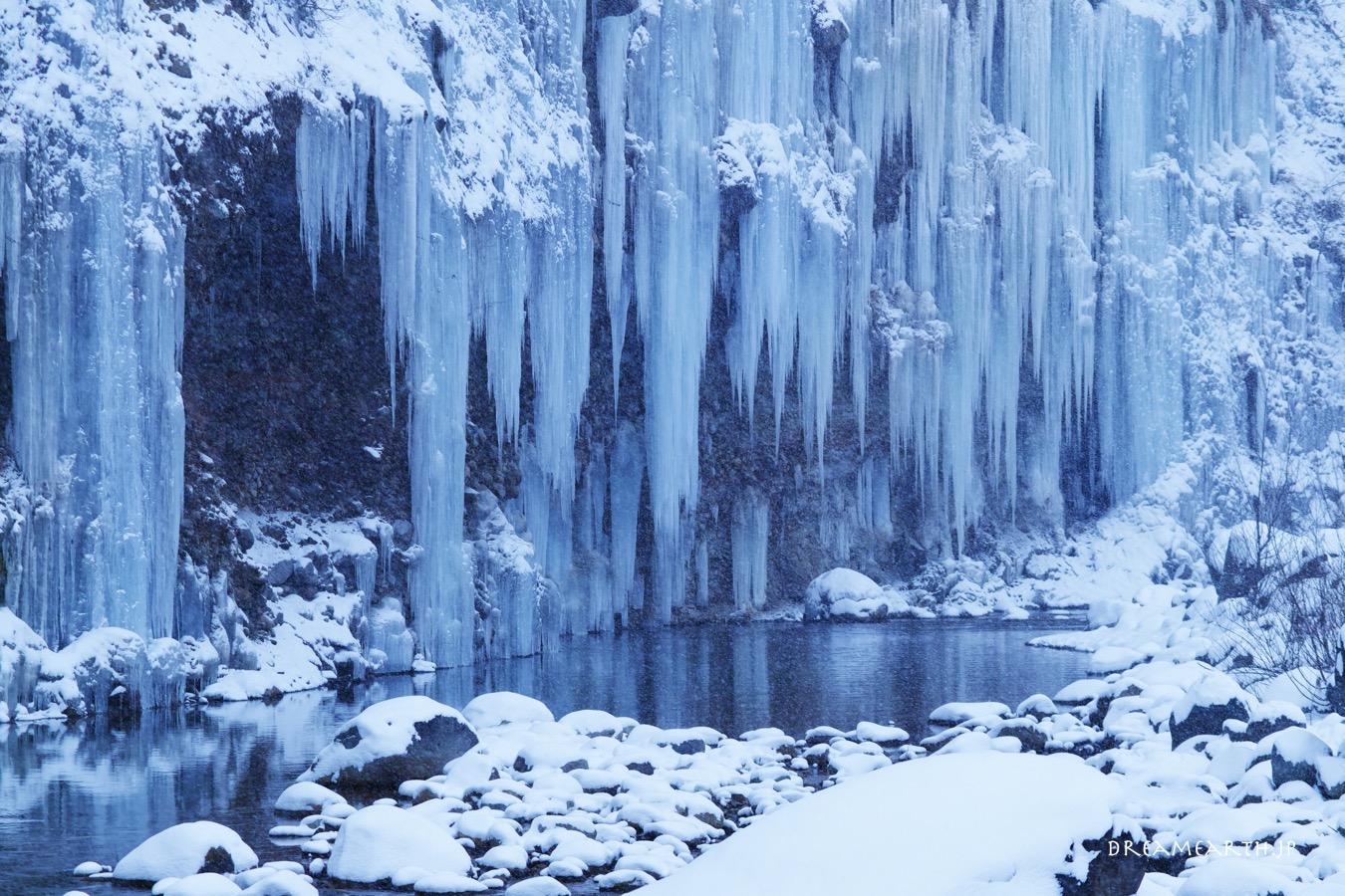 白川氷柱群