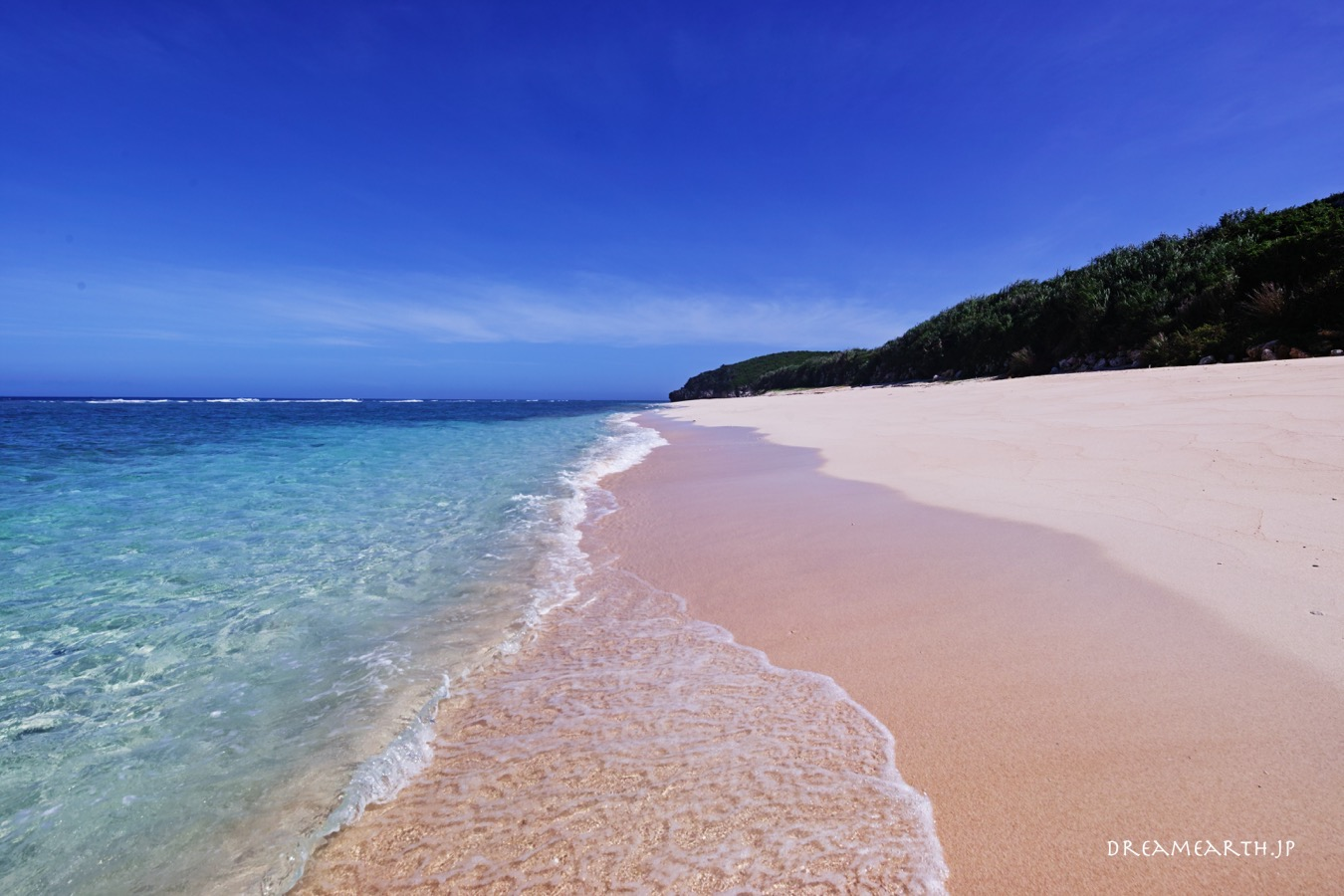与論島,パラダイスビーチ