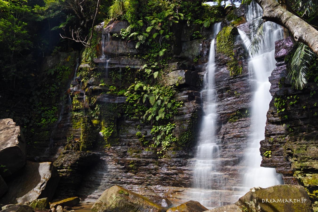 西表島・ゲータの滝